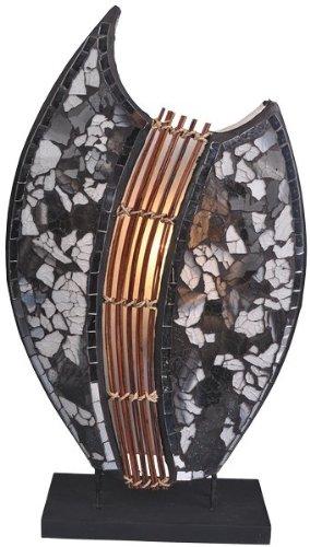 Lampe Pia oval, 30cm - Deko-Leuchte, Stimmungsleuchte