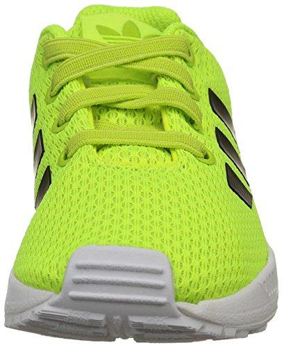 adidas Zx Flux El I, Chaussures Mixte Adulte Solar Yellow/Core Noir/Ftwr Blanc