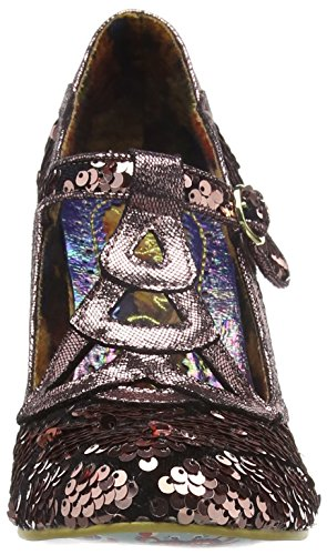 Irregular Choice Nicely Done, Escarpins femme Multicolour (Metallic)