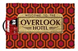 The Shining Overlook Hotel Fußmatte, Kokosfaser, 60 x 40 x 1,5 cm, Rot