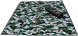 Giow Kleine Kugel Teppich-Camouflage-Feuchtigkeits-Pad Digitale Camouflage-Feuchtigkeits-Pad Verdicken Sie Camouflage-Aluminium-Film-Feuchtigkeits-Pad200X200CM