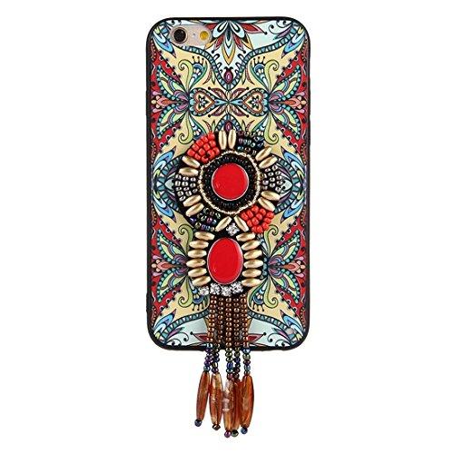 Wkae Retro ethnische Art-Abziehbilder schützender rückseitiger Abdeckungs-Fall für iPhone 6 u. 6s ( SKU : Ip6g0416f ) Ip6g0416f