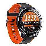 Chenang Smartwatch, Fitness Armband Wasserdicht Smart Watch Intelligente Fitness Tracker Aktivitäts Uhr Armbanduhr mit Pulsmesser Schlafmonitor Anruf Beachten Damen Herren für Android iOS
