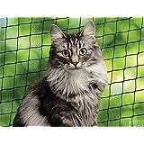 Nobby 80105 Katzenschutznetz, S, schwarz