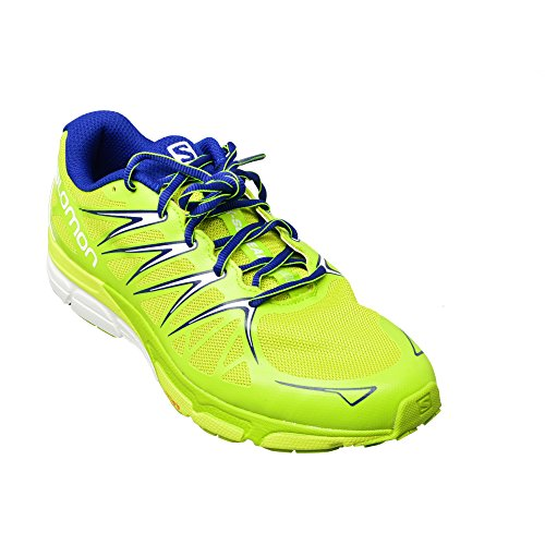 Salomon X-Scream Foil - Chaussures de running - vert 2016 gecko green/granny green/ g blue