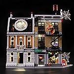 LIGHTAILING-Set-di-Luci-per-Super-Heroes-Avengers-la-Resa-dei-Conti-al-Sanctum-Sanctorum-Modello-da-Costruire-Kit-Luce-LED-Compatibile-con-Lego-76108-Non-Incluso-nel-Modello