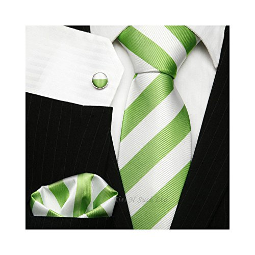 TNS classico a righe Cravatte UK-Gemelli e