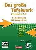 Das große Tafelwerk interaktiv 2.0 - Niedersachsen: Das Große Tafelwerk interaktiv 2.0