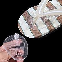 KAIMENG 2Paar Silikon VorfußpolsterSandale Selbstklebend Kissen Fußpads für Sandale preisvergleich bei billige-tabletten.eu