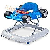 Caretero Toyz Speeder Lauflernhilfe Gehhilfe Laufhilfe mit Spielcenter Blue