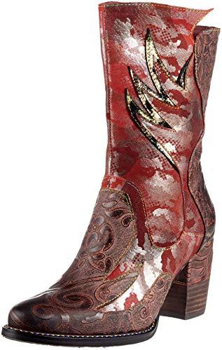 Laura Vita Damen Cendrillon 13 Stiefeletten, Rot (Rouge), 38 EU