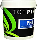 Totpint - Totpint pro - pintura plástica blanco mate interior/exterior, tamaño 4 l
