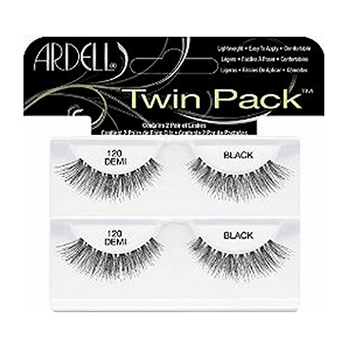 (6 Pack) ARDELL Twin Pack Lashes - 120 Demi Black