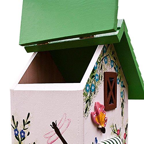 Vogelhäuschen, modern, grün - 2