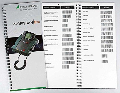 GMC-I Messtechnik Ringbuch z.Datenverwaltung PROFISCAN ETC D Zubehör für Messgerät 4012932121698