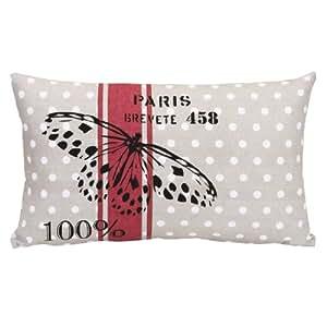 Coussin Papillon 30x50cm