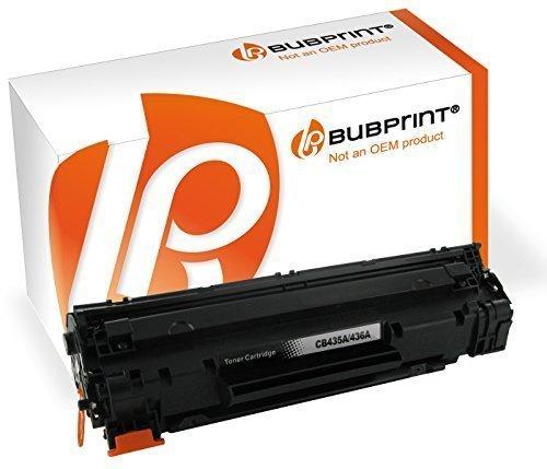 Bubprint Toner kompatibel für HP CB435A HP35A 35 A 35A für LaserJet P 1005 P1005 1006 P1006 1007 P1007 1008 P1008 1009 P1009 Schwarz - Hp 35a Laserjet