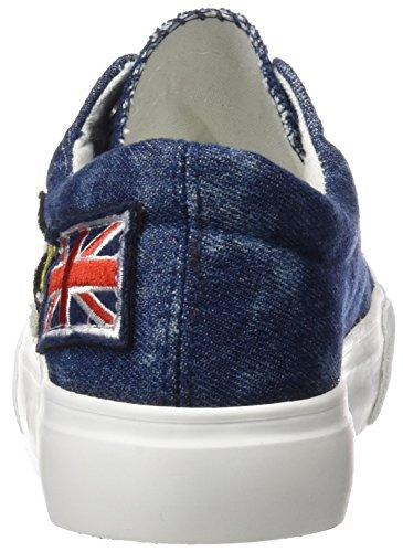 MTNG Attitude Smile Chica, Chaussures de sport femme Bleu