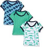 Care Baby-Jungen T-Shirt Bard, 3er Pack Mehrfarbig (Winter Green 931), 104
