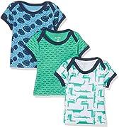 Care Baby-Jungen T-Shirt Bard, 3er Pack Mehrfarbig (Winter Green 931), 68