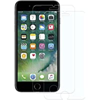 Cristal Templado iPhone 7/8, 2-Unidades Protector de Pantalla iPhone 7/8, POOPHUNS Cristal Vidrio Templado Premium para iPhone 7/8 [3D Touch Compatible] [9H Dureza] [Alta Definicion] [Anti-Huella] 0.3mm