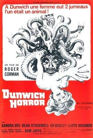 The Dunwich Horror - Französisch Film Poster Plakat Drucken Bild - 30.4 x 43.2cm Größe Grösse Filmplakat