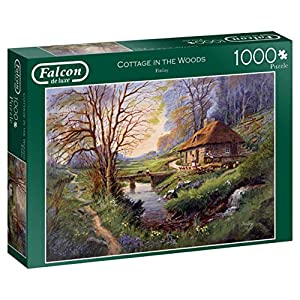 Falcon de Luxe Cottage in The Woods 1000 pcs Puzzle - Rompecabezas (Puzzle Rompecabezas, Paisaje, Niños y Adultos, Niño/niña, 12 año(s), Interior)
