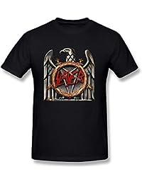 Pliuegy Slayer Men's Slayer Nation T-shirt Black