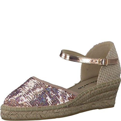 Tamaris Damen Keil-Sandaletten Rosa, Schuhgröße:EUR 39