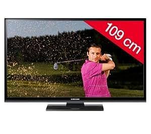 """Samsung PS43E450A1WXXN TV Plasma 43 """" (109.32 cm) 600 Hz Noir, Noir Classe c"""