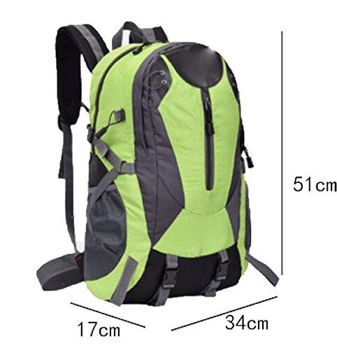 Mode Outdoor Umhängetasche Klettern Wasserdicht Breathable Multi - Zweck Reisetasche,DarkBlue Red