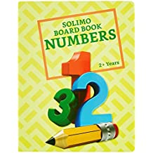 Amazon Brand - Solimo Long Board Book, Number