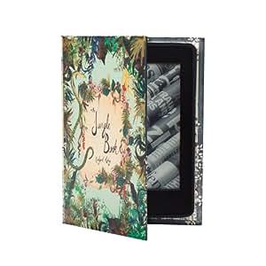 """KleverCase Le livre de la Jungle """"Rudyard Kipling Étui portefeuille pour Amazon Kindle 7th Gen"""