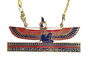 Pendentif Déesse Egyptienne Isis et sa Chaîne