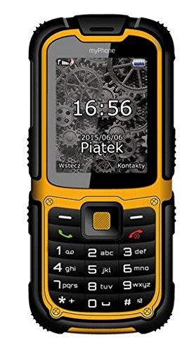 myPhone Hammer 2 2 2  213g Negro  Naranja Caracter  stica del tel  fono - Tel  fono m  vil  Barra  SIM doble  5 59 cm  2 2    2 MP  1450 mAh  Negro  N
