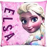 Disney Frozen Die Eiskönigin Kissen Elsa und Anna auf der Rückseite, Art. 4714, 40 x 40 cm
