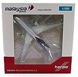 Herpa Miniaturmodelle GmbH Herpa 531344 Malaysia Airlines Airbus A350-900 Negaraku Livery - 9M-Mac