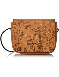 Skunkfunk Ivet, Shopper y Bolso de Hombro para Mujer, Varios Colores (Leather), 5x23x17 cm (W x H x L)