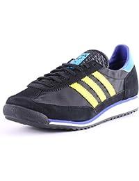 Adidas Originals SL 72 LTD Vintage Sneaker blauschwarzweiß