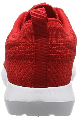 Nike Roshe Natural Motion Flyknit, Chaussures de Running Entrainement Homme Rouge (University Red/University Red/White)