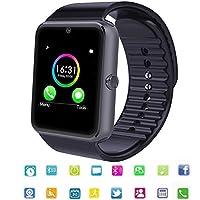 Principalmente funzioni:  -Notifica: smart watch ti ricorderà i messaggi da facebook, whatsapp, twitter, testo WeChat e così via. -Supporto carta SIM TF card, consente di effettuare e ricevere telefonate direttamente al polso, si sta facendo ...