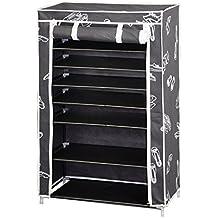 Kit Closet 4090042007 - Zapater armario, 7 baldas, tela