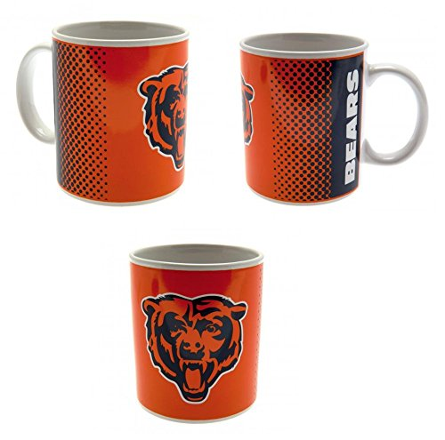 Chicago Bears Kaffeetasse Teetasse Tasse Becher Mug (Bears Tassen Chicago)