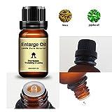UOMOGO 10ml allungamento del prolungamento del pene con olio essenziale a prolungamento prolungato per una migliore sensazione massimizzata e il massimo (Marrone)