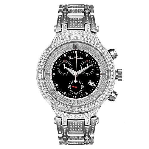 Joe Rodeo Diamond Men's Watch - MASTER silver 5.2 ctw