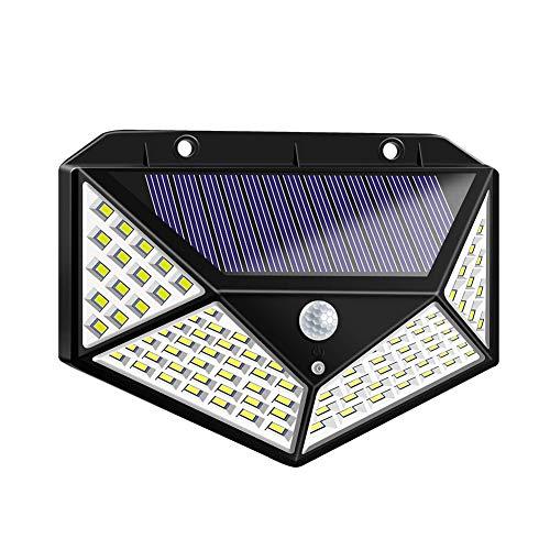 Cossll498 Wasserdichte 100 LED Solar Power Motion Sensor Licht Outdoor Garten Wandleuchte (Light Solar Outdoor Motion)