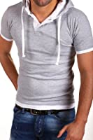 MT Styles 2in1 Hooded T-Shirt BS-678
