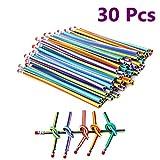 Joykey Matite flessibili multicolore matite pieghevoli Magia Attrezzature divertenti per la scuola, partito, 30 pezzi