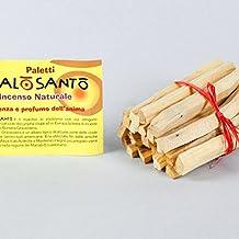 Palo Santo Incienso (Bursera graveolens) 12Madera Sticks. Single Stick: Tamaño 1x 1x 10cm, peso Media 2,60gr