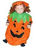 AN01 92-98 Kürbiskostüm, Halloween Kostüm, Kürbis Faschingskostüme, Kürbis Karnevalskostüm, für Kinder, Jungen, Mädchen, für Fasching Karneval Fasnacht, auch als Geschenk zum Geburtstag oder Weihnachten